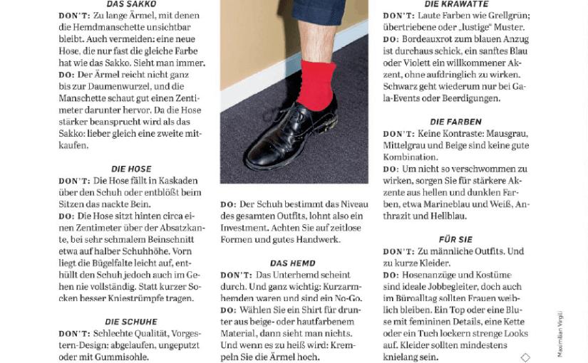 Schluss mit Lustig: Office-Fashion-Fehler (für Capital)