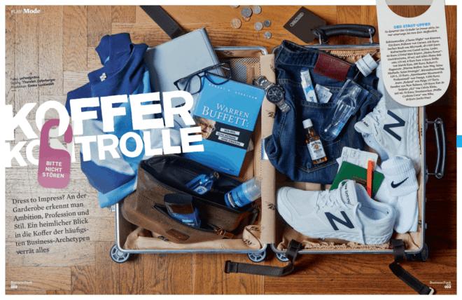 Koffer-Kontrolle (für Business Punk)