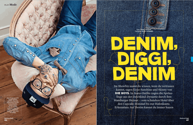 Denim, Diggi, Denim (für Business Punk)