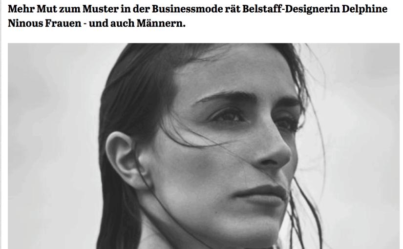 Was Mann trägt: Delphine Ninous, Belstaff (für Capital.de)