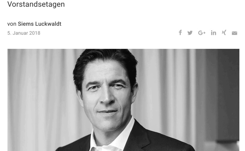Interview: Frédéric de Narp, Bally (für Capital.de)