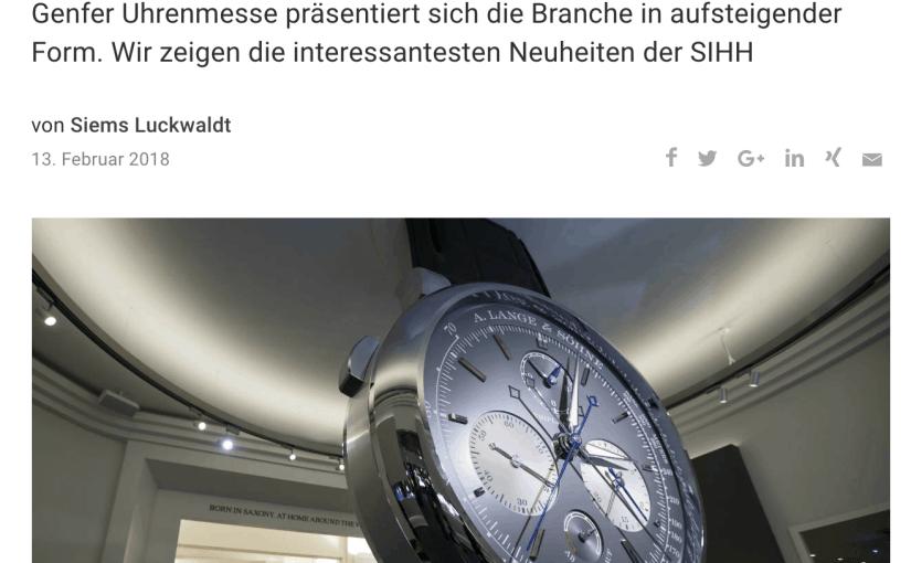 Best-of SIHH (für Capital.de)
