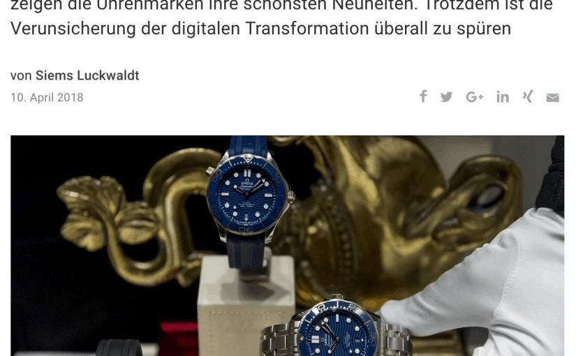 Baselworld: Zwischen Aufschwung und Verunsicherung (für Capital.de)
