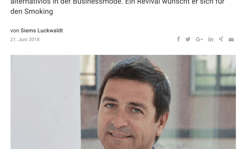 Was Mann trägt: Antonio de Matteis, Kiton (für Capital.de)