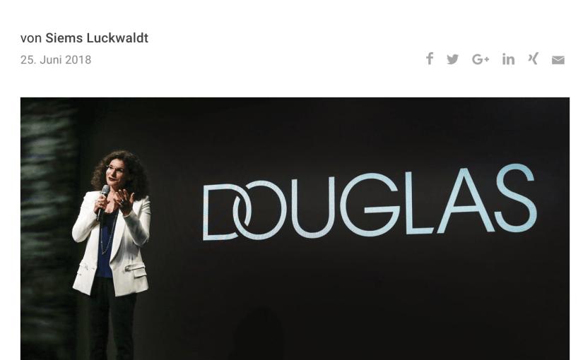 Interview: Tina Müller, Douglas (für Capital.de)