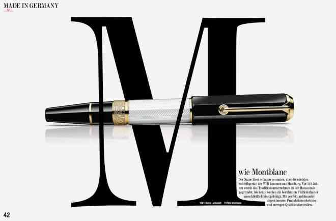 M wie Montblanc (für Grund Genug)