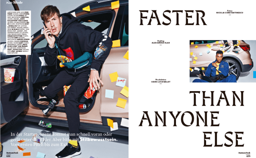 Faster Than Anyone Else (für Business Punk)