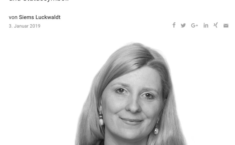 Capital Watch Award 2018: Meet the Jury – Dr. Nina Lindau-Thöne (für Capital.de)