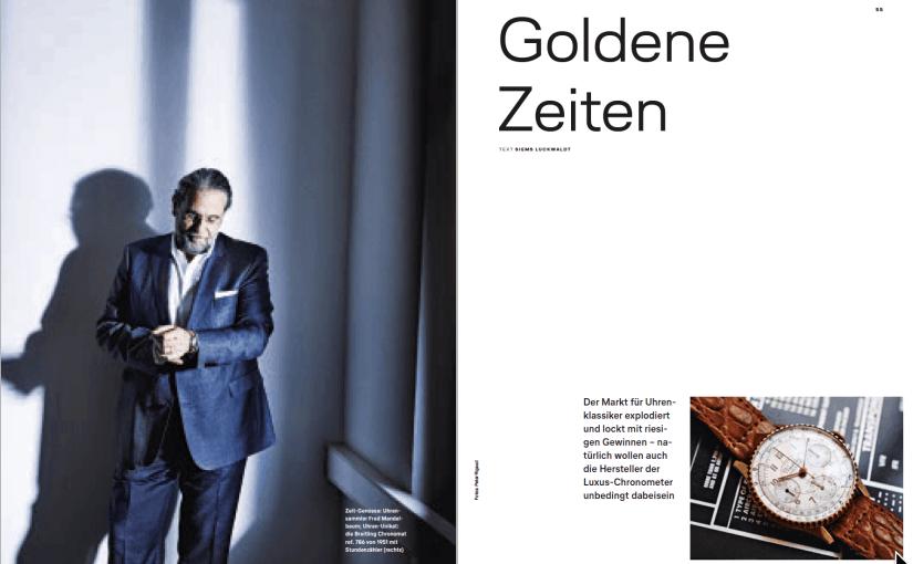 Goldene Zeiten (für Lufthansa Exclusive)