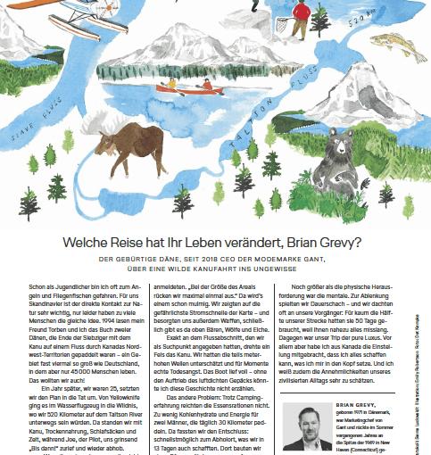 Reise meines Lebens: Brian Grevy (für Lufthansa Exclusive)