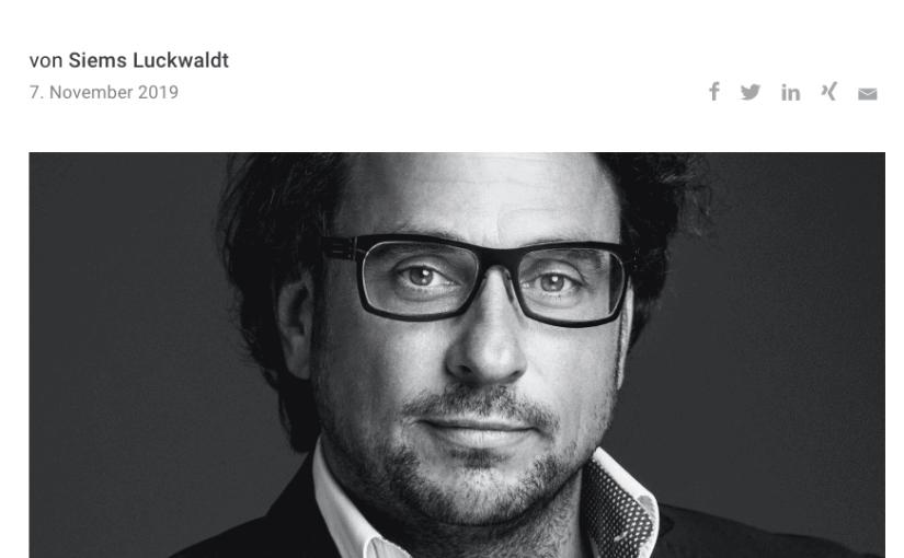 Capital Watch Award 2019: Meet the Jury – Alexander Leuz, Schaffrath (für Capital.de)