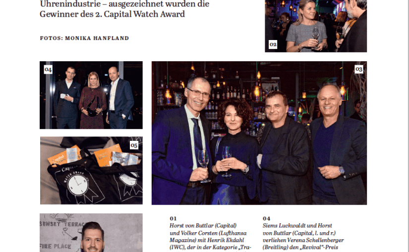 Capital Watch Award 2019: Bilder der Verleihung (für Capital)