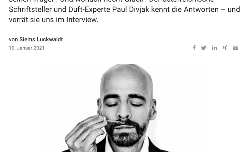 Duft des Erfolgs: Paul Divjak (für Capital.de)