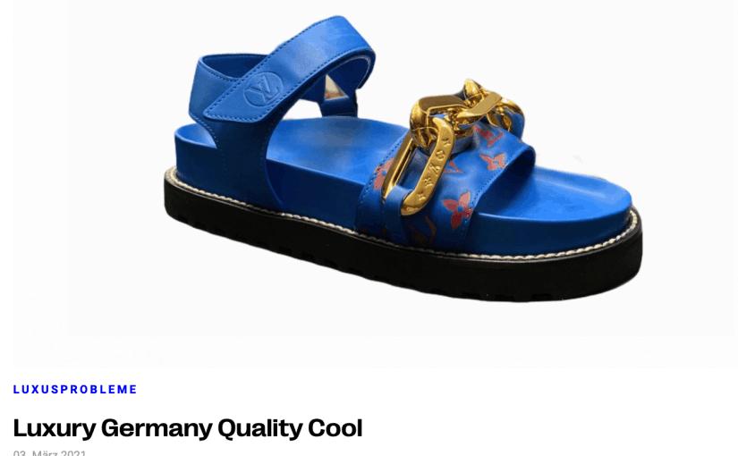 Luxusprobleme: Luxury Germany Quality Cool (für Profashionals)
