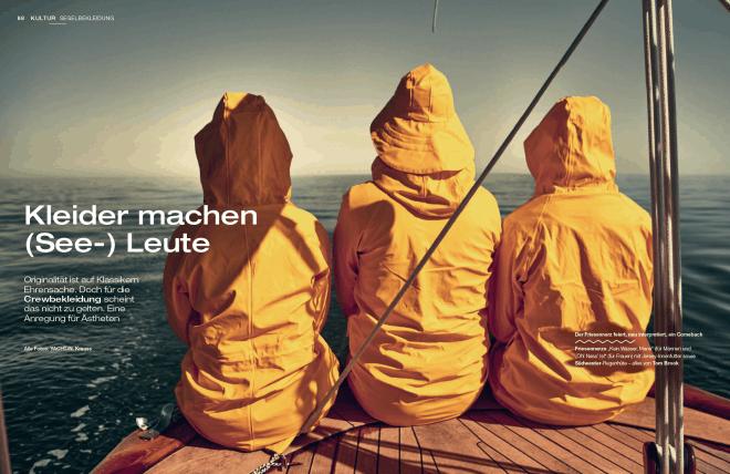 Kleider machen (See-)Leute (für Yacht Classic