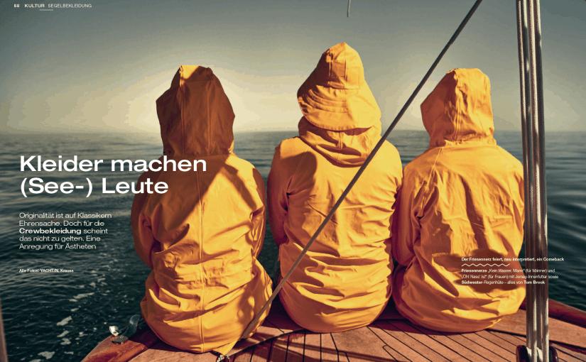 Kleider machen (See-)Leute (für Yacht Classic)