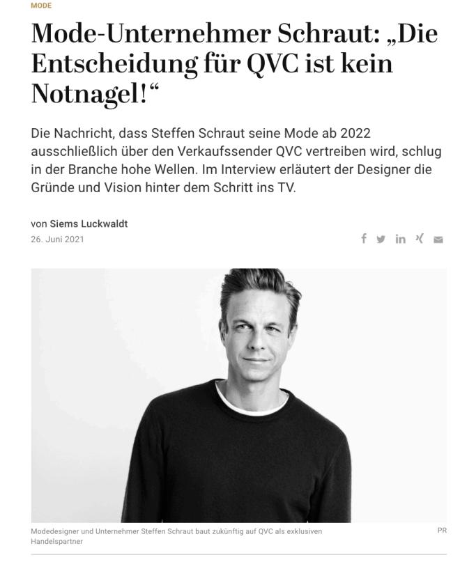 Interview: Steffen Schraut (für Capital.de)