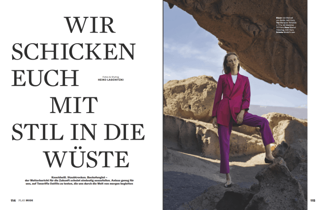 Fotostrecke: Wüsten-Style (für Business Punk)