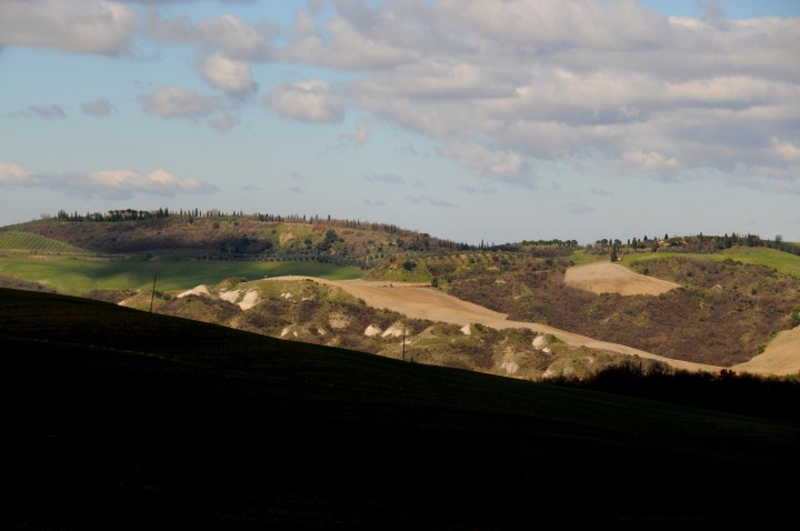 Tuscany Landscapes by car