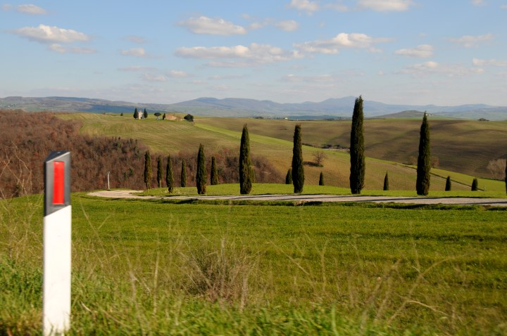 Typical Val d'Orcia view