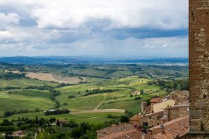 montepulciano you can see for miles and miles