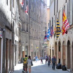 Siena City on Palio Day