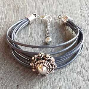 Armband Alicia antraciet
