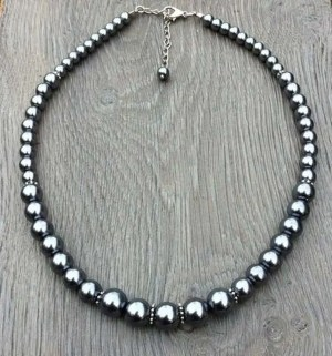 Ketting Dusty antraciet