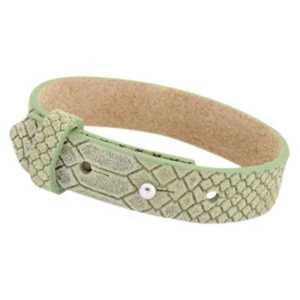 Leren armband Carla met zeeuwse knop