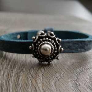 Leren armband Ava enkel