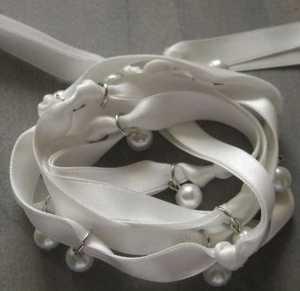 Armband Fleur wit