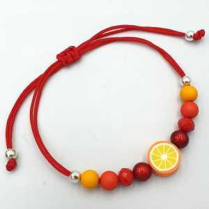Ibiza armband Orange