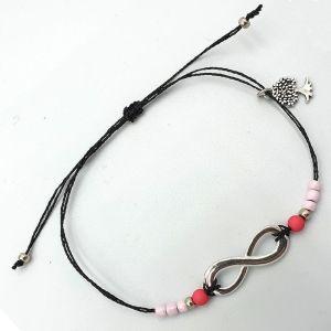Infinty armbandje roze met droomboom