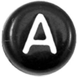 Letters zwart wit