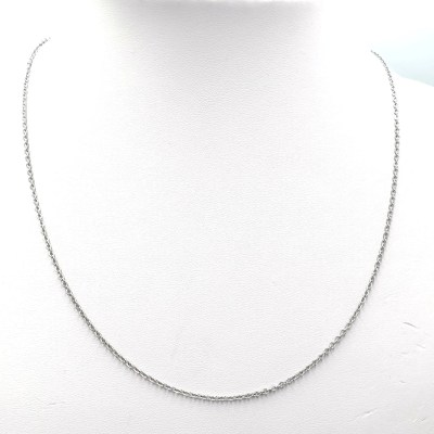 Roestvrij stalen (RVS) Stainless steel ketting Mix & Match zilver (50cm)