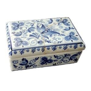 Delfts blauw doosje