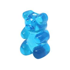 Resin hangers gummi bear Blue