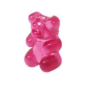 Resin hangers gummi bear Pink