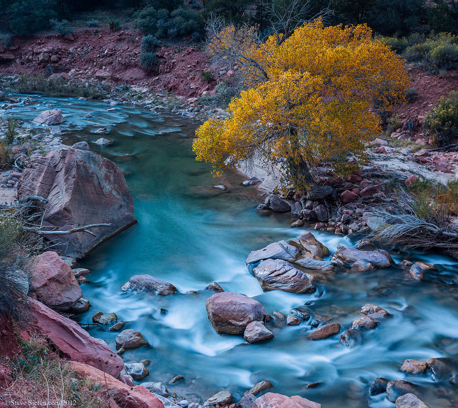 Virgin River Cotton at Zion National Park