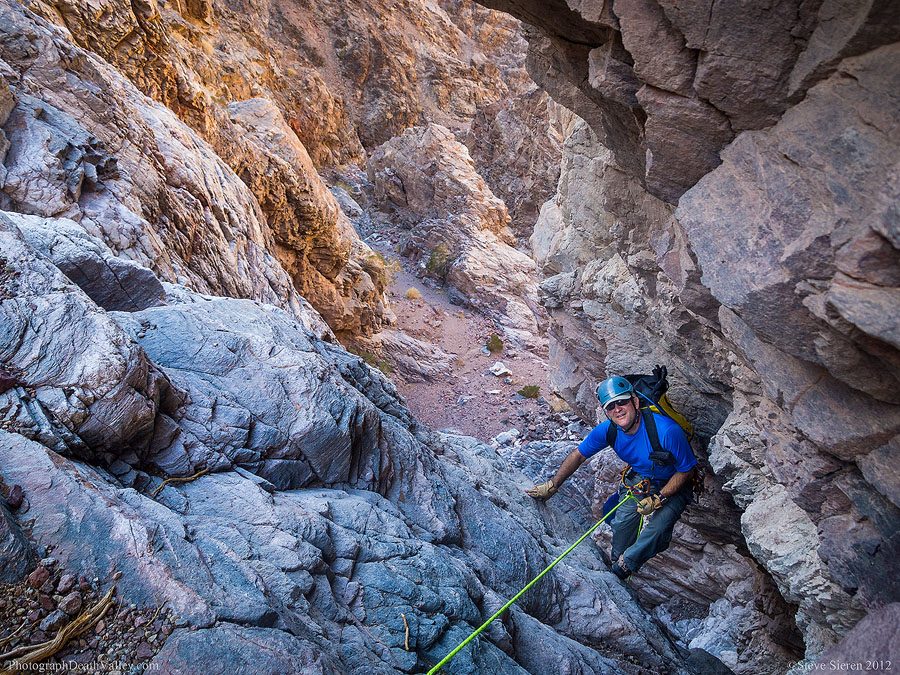 Canyoneering in Death Valley