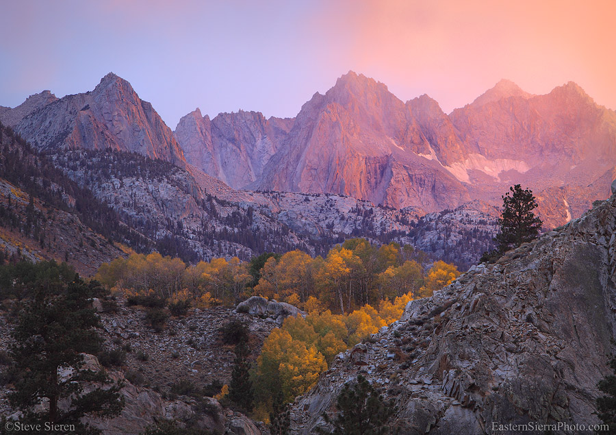 Eastern Sierra in Fall
