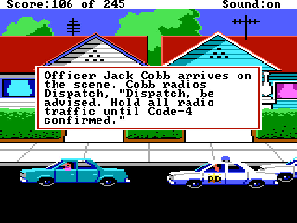 Police Quest 1 – Backup Arrives – Sierra Classic Gaming