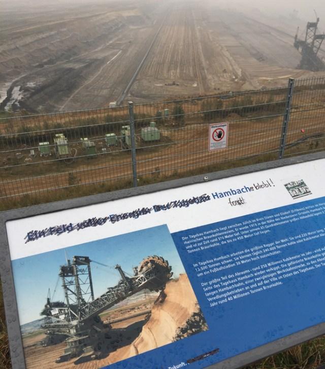 Hambach coal surface mine