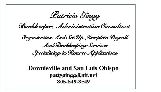 Patty Business Card