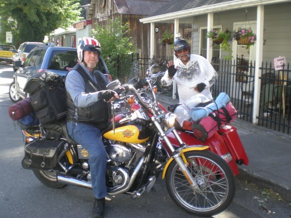 Teddy & Bear friends from Washington have made a loop down the coast over Hwy 49 and on their way home through Downieville.