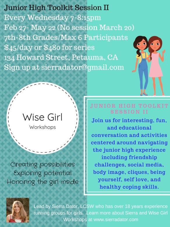 """<img src=""""flier.jpg"""" alt=""""wise girl workshops junior high toolkit session II flier"""" data-recalc-dims="""