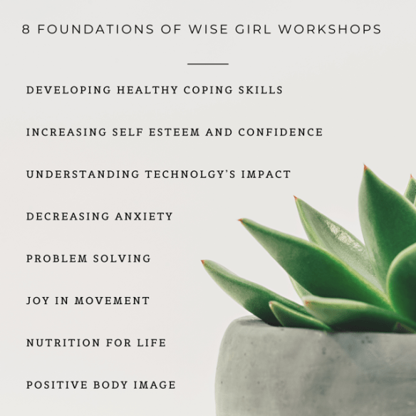 succulent with wise girl workshops 8 core foundations listed
