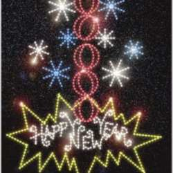 new year lights