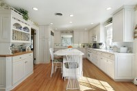 How to Pick the Best Color for Kitchen Cabinets | Home and ...