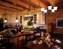 Log Cabin Homes Interior Kitchen